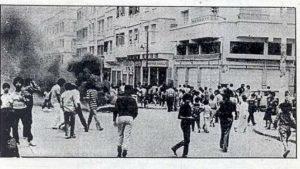 foto manifestazioni in marocco, anni '60-'70