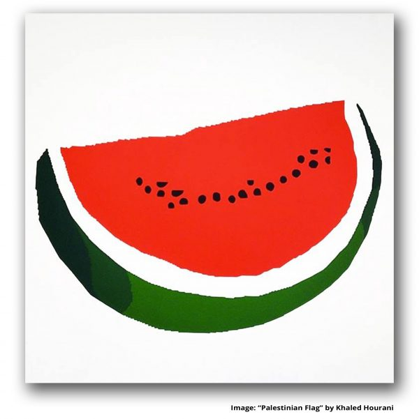Palestinian Flag, Khaled Hourani