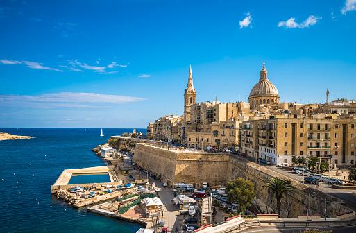 Vista di La Valletta